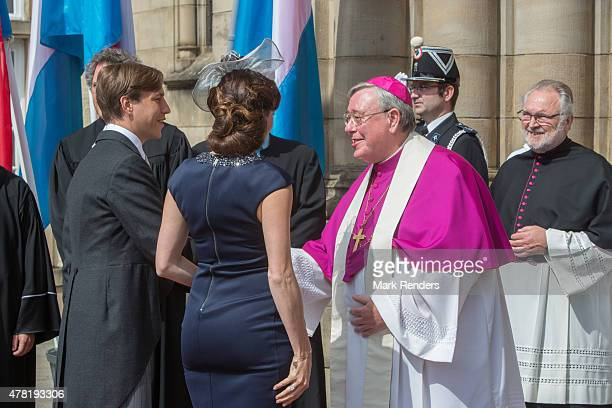 Princess Terry and Prince Louis of Luxembourg assist National Day on June 23 2015 in Luxembourg Luxembourg