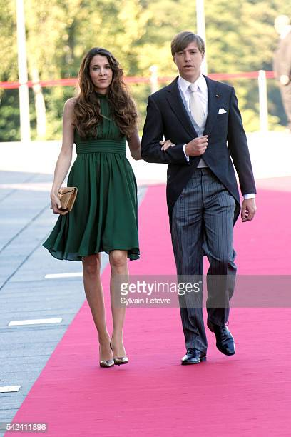 Princess Tessy and Prince Louis of Luxembourg celebrate National Day at Philarmonie on June 22, 2016 in Luxembourg, Luxembourg.