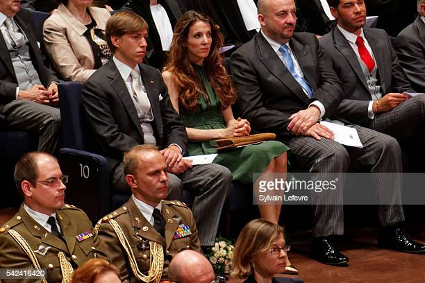 Princess Tessy and Prince Louis of Luxembourg celebrate National Day 2 at Philarmonie on June 23 2016 in Luxembourg Luxembourg