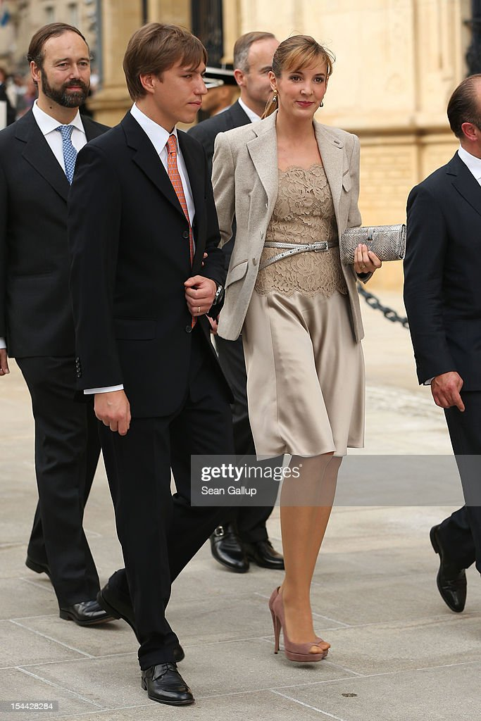 The Wedding Of Prince Guillaume Of Luxembourg & Stephanie de Lannoy - Civil Cermony