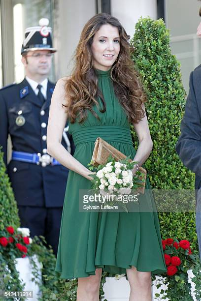 Princess Tessy of Luxembourg celebrates National Day 2 at Philarmonie on June 22, 2016 in Luxembourg, Luxembourg.