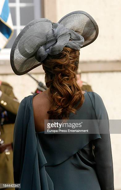 Princess Tessy of Luxembourg during the wedding ceremony of Prince Guillaume Of Luxembourg and Countess Stephanie de Lannoy at the Cathedral of our...