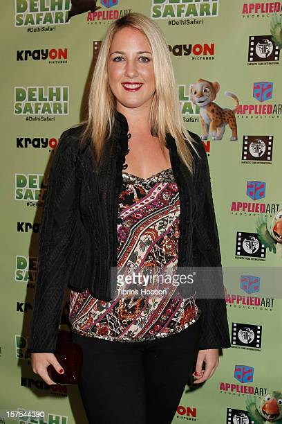 Princess Theodora attends the Delhi Safari Los Angeles premiere at Pacific Theatre at The Grove on December 3 2012 in Los Angeles California