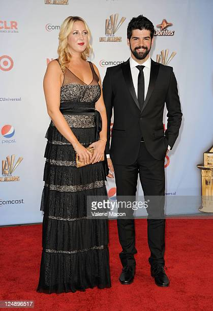 Princess Theodora of Greece and Denmark and Miguel Angel Munoz arrive at the 2011 NCLR ALMA Awards held at Santa Monica Civic Auditorium on September...