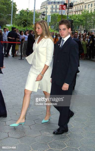 Princess Theodora of Greece and her brother Philipos | Location Barcelona Spain