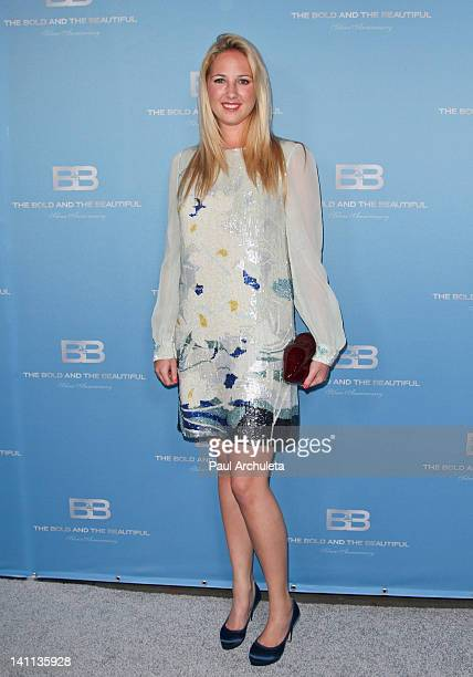 Princess Theodora Of Greese Denmark attends The Bold And The Beautiful 25th silver anniversary party on March 10 2012 in Los Angeles California