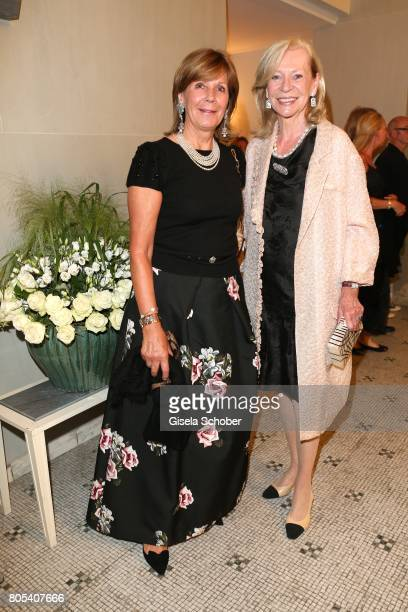 Princess Ursula Uschi of Bavaria and Corry MuellerVivil during the opening of the opera festival and premiere of 'Die Gezeichneten' at...