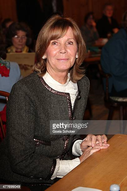 Princess Ursula Uschi von Bayern attends the reading of the Wolfgang Bosbach biography Jetzt erst Recht at Hotel Bayerischer Hof on March 10 2014 in...