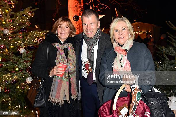 Princess Ursula von Bayern Peter Mey and Fuerstin Inge WredeLanz during the 20th BMW advent charity concert at Jesuitenkirche St Michael on November...