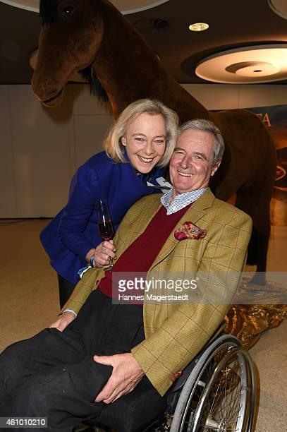 Princess Uschi zu Hohenlohe and Prince Peter zu Hohenlohe attend 'Apassionata Die goldene Spur' Munich Premiere at Olympiahalle on January 3 2015 in...