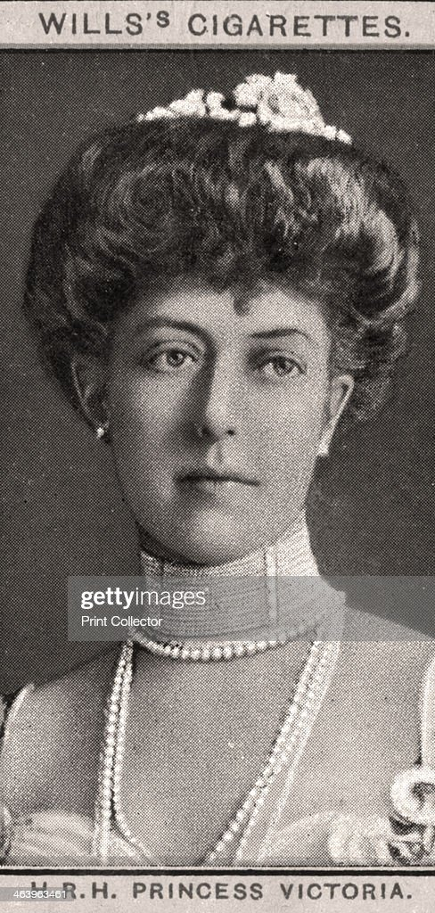 H.R.H Princess Victoria, 1908.Artist: WD & HO Wills : News Photo