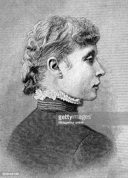 Princess victoria alberta elisabeth mathilde marie of hessedarmstadt va 1863 1950 and by marriage princess of battenberg later marchioness of milford...