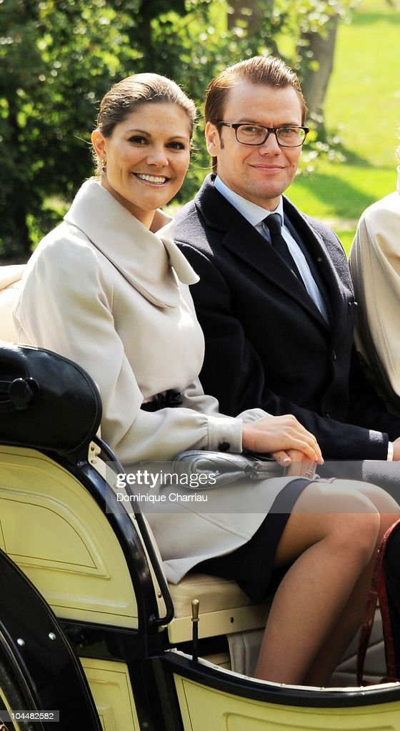 Princess Victoria and Prince Daniel of Sweden Official Trip to France-Day 2
