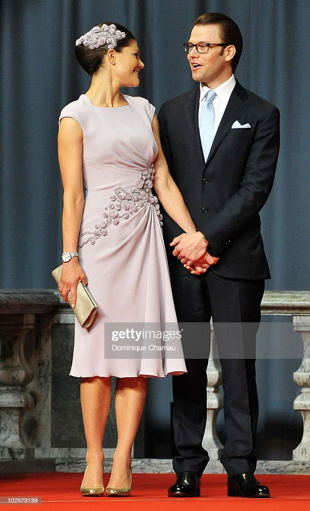 Crown Princess Victoria And Daniel Westling - Pre-Wedding Reception - Arrivals : News Photo