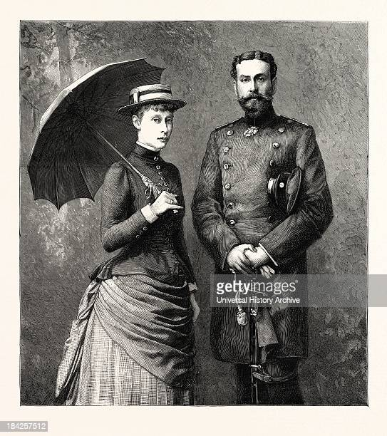 Princess Victoria Of HesseDarmstadt And Her Fiance Prince Louis Of Battenberg