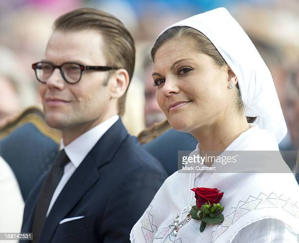 Princess Victoria Of Sweden And Prince Daniel Of Sweden At A Concert Celebrating Victorias 35Th Birthday At Borgholm'S Idrottsplats In Borgholm,...