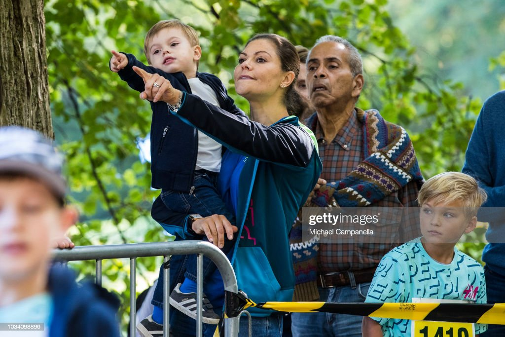 Prince Daniel Of Sweden Attends Prince Daniel's Race and Pep Day : ニュース写真
