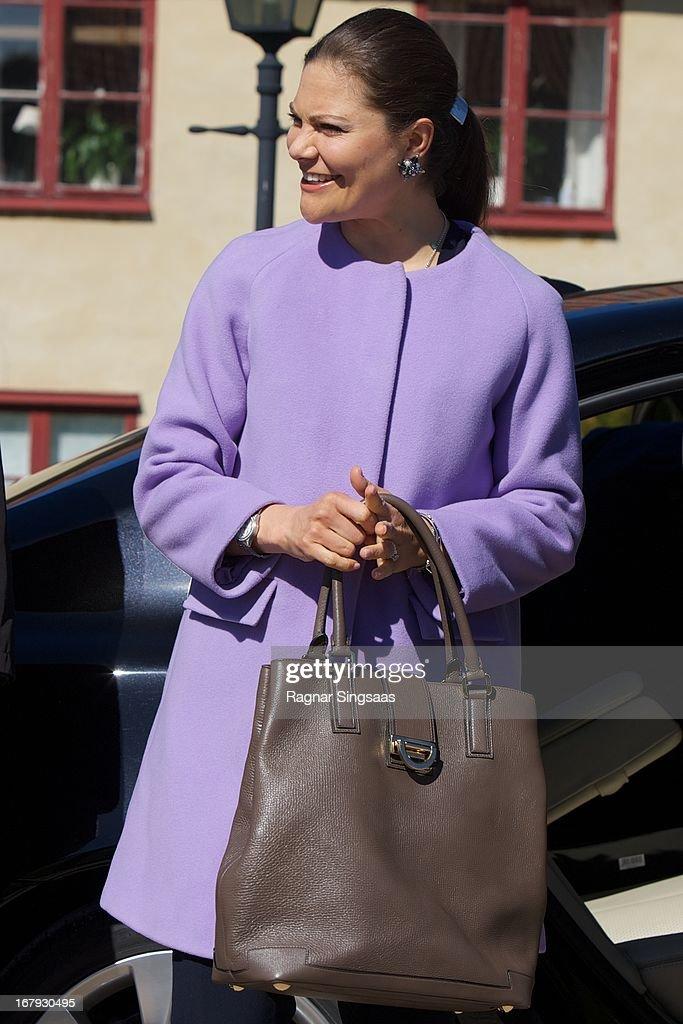 Princess Victoria And Prince Daniel Of Sweden Visit Lacko Castle In Vastra Gotaland : News Photo