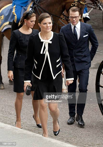 Princess Victoria Of Sweden At The Opening Of The Parliamentary Session The Riksdag Stockholm