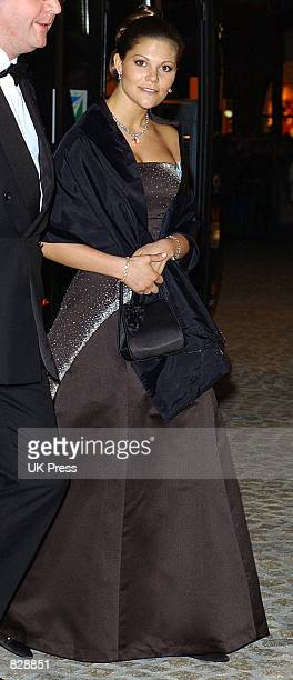 Princess Victoria of Sweden attend a dinner and party at the Royal Palace in honor of the wedding of Dutch Crown Prince Willem-Alexander and Maxima...