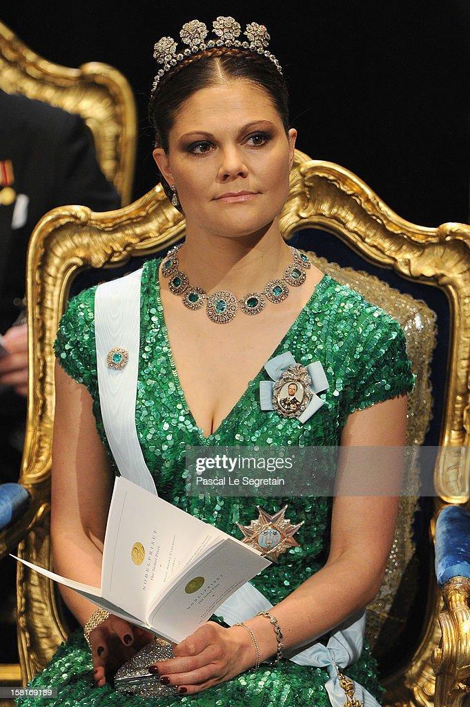 Nobel Prize Ceremony - Stockholm : News Photo