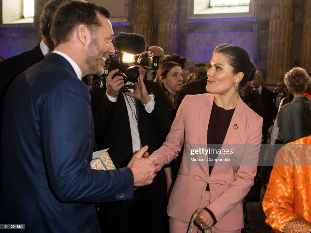 Swedish Royals Attend The Global Child Forum 2018