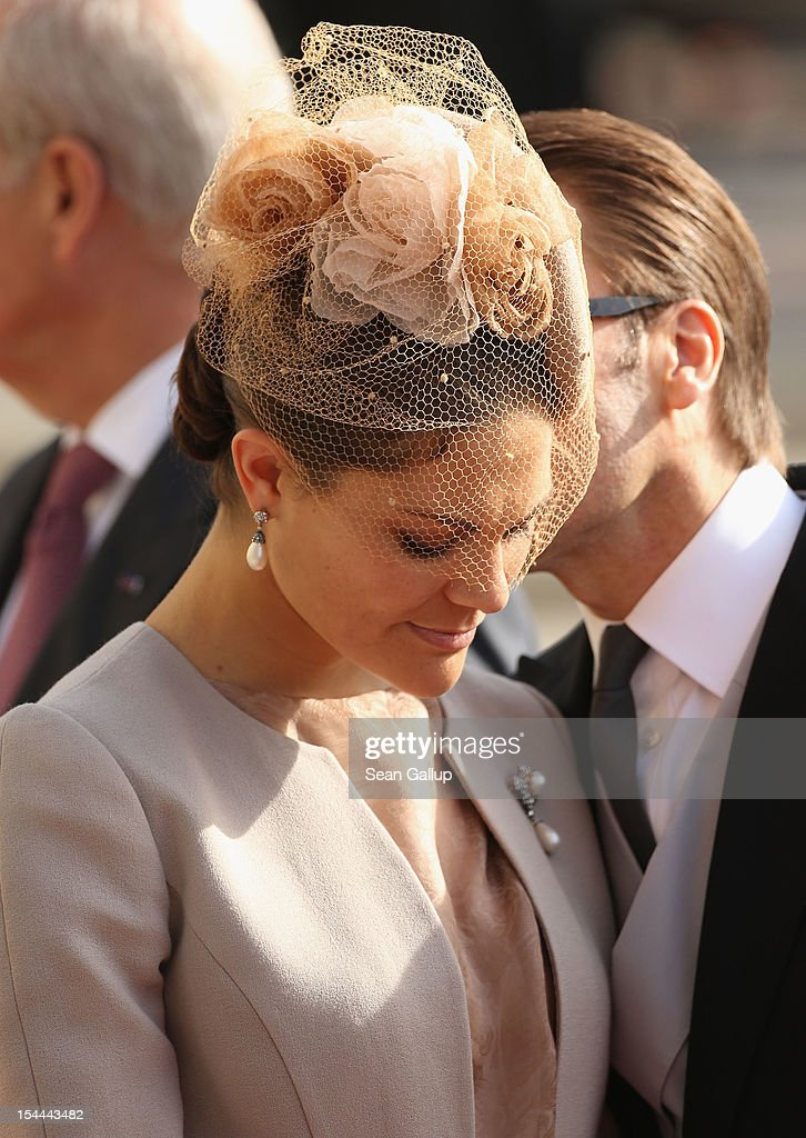 The Wedding Of Prince Guillaume Of Luxembourg & Stephanie de Lannoy - Official Ceremony : News Photo