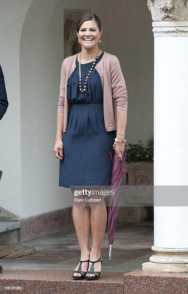 Princess Victoria Of Sweden Celebrates Her 34Th Birthday : News Photo