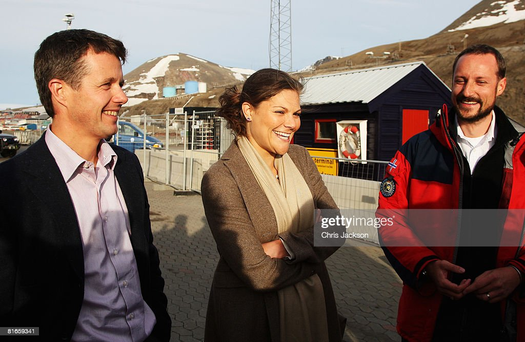 Royal Arctic Expedition On The Icebreaker 'Oden' : News Photo
