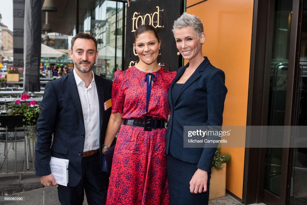 Crown Princess Victoria Of Sweden Attends EAT Stockholm Food Forum : News Photo