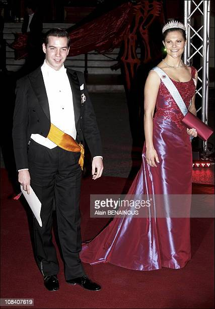 Princess Victoria of Sweden Guillaume of Luxembourg in Monaco on November 19 2005