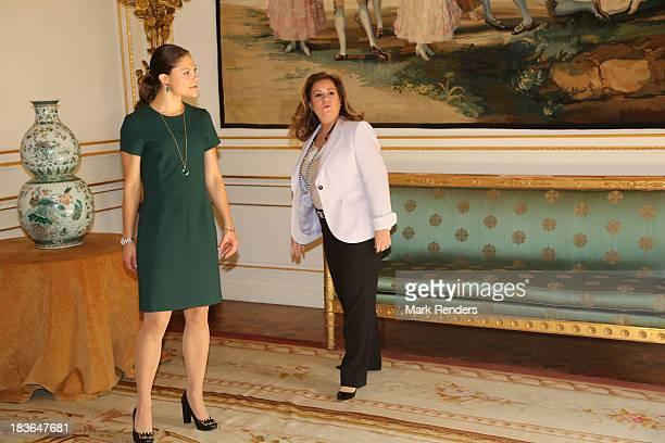 Princess Victoria of Sweden Maria Teresa and Grand Duchess of Luxembourg assist the Honorary Board of the International Paralympic Committee on...