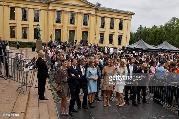 Princess Victoria of Sweden Prince Daniel of Sweden Ari Behn Princess Martha Louise of Norway Princess Rosario of Bulgaria Crown Princess MetteMarit...