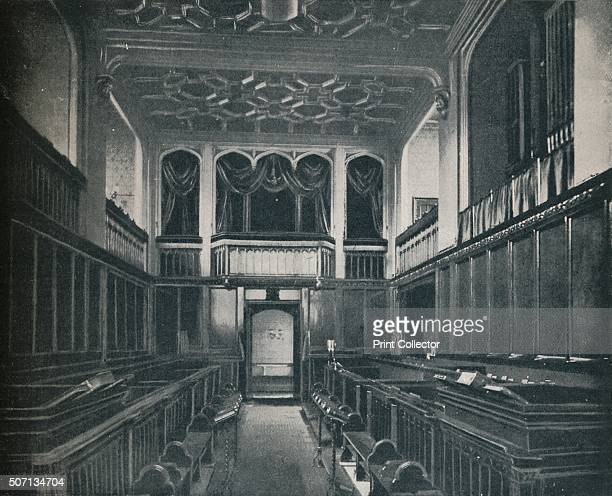 Princess Victoria was Confirmed at the Chapel Royal, St. James', c1899, . St James's Palace, London, built c1540 and altered since, most notably by...