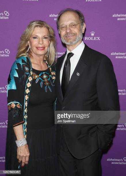 Princess Yasmin Aga Khan and actor David Hyde Pierce attend the 35th Annual Alzheimer's Association Rita Hayworth Gala at Cipriani 42nd Street on...