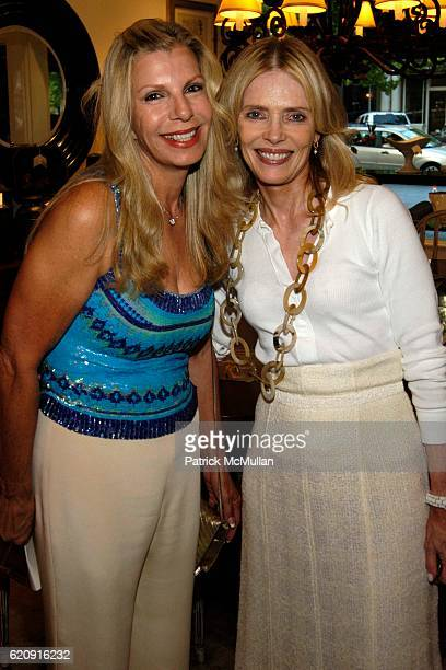 Princess Yasmin Aga Khan and Barbara Hackett attend Kickoff Party in Anticipation of After 25 Years A Sparkling Silver Celebration The 2008...