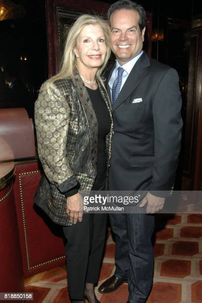 Princess Yasmin Aga Khan and Blaise Labriola attend Alison Mazzolaís Birthday Party hosted by George Farias and Anne and Jay McInerney at Doubles on...