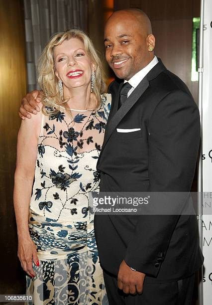 Princess Yasmin Aga Khan and Damon Dash during 2005 AAFA American Image Awards to Benefit the Rita Hayworth Fund of the Alzheimers Association at The...