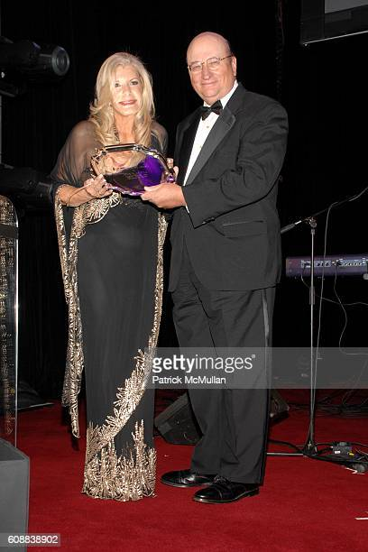 Princess Yasmin Aga Khan and John K. Castle attend The 2007 Alzheimer's Association Rita Hayworth Gala at Waldorf Astoria on October 10, 2007 in New...