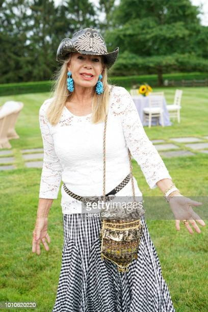 Princess Yasmin Aga Khan attends Alzheimer's Association Hosts Rita Hayworth Gala Hamptons Kickoff at a Private Residence on August 3 2018 in Water...