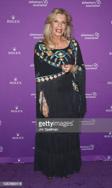 Princess Yasmin Aga Khan attends the 35th Annual Alzheimer's Association Rita Hayworth Gala at Cipriani 42nd Street on October 23 2018 in New York...