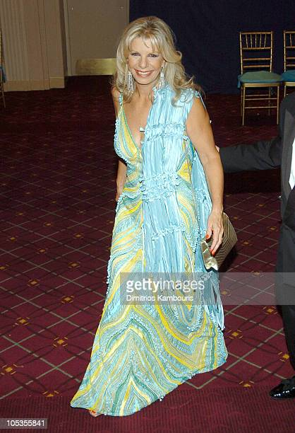 Princess Yasmin Aga Khan during 20th Annual Rita Hayworth Gala Arrivals at Waldorf Astoria in New York City New York United States