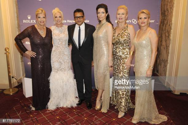 Princess Yasmin Aga Khan Michele Herbert Naeem Khan Chele Upton Chiavacci Cornelia Bregman and Louise Kornfeld attend 2010 Alzheimer's Association...