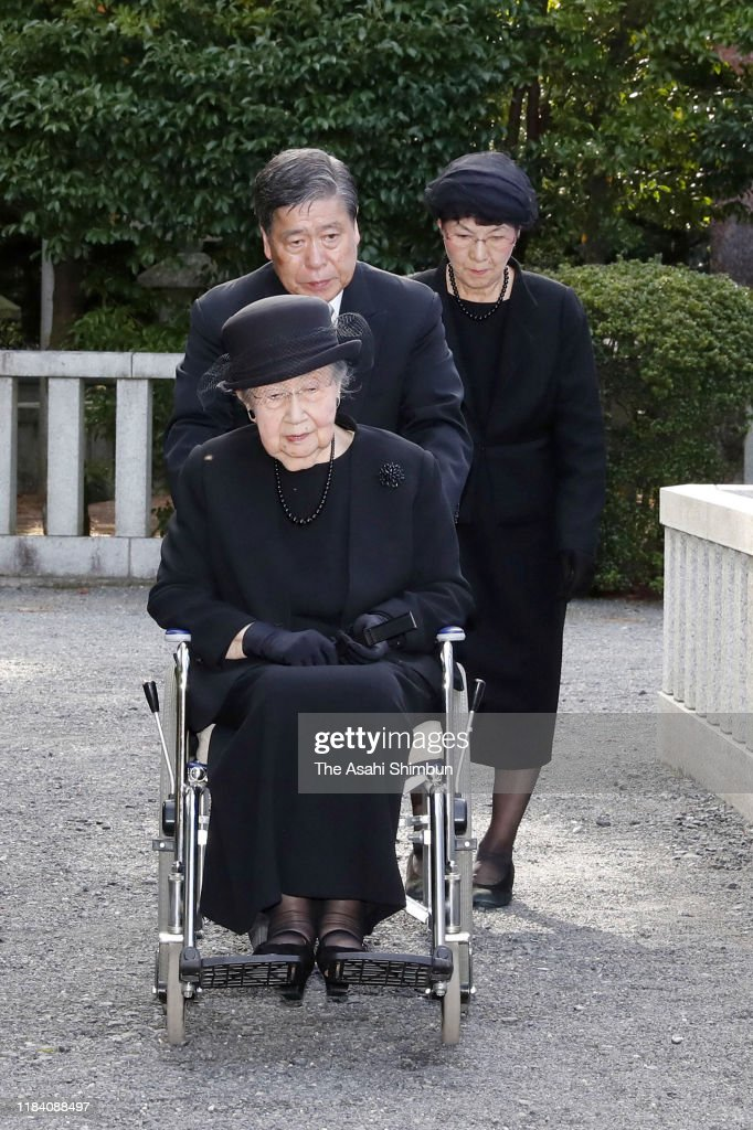 3rd Anniversary Memorial For Late Prince Mikasa Takes Place : News Photo