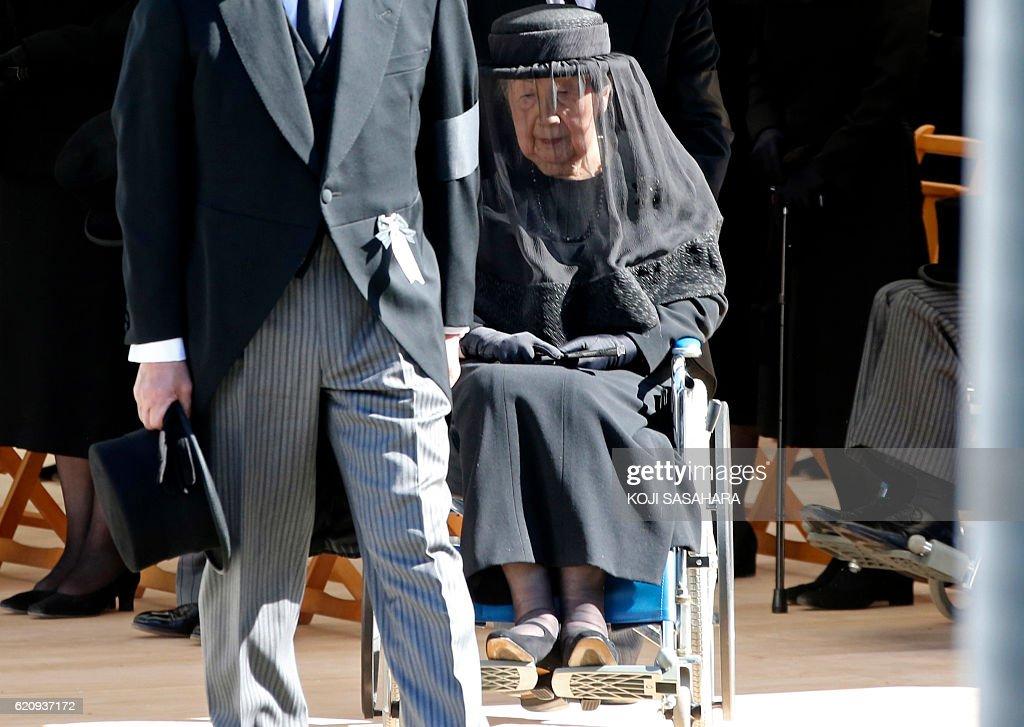JAPAN-POLITICS-ROYAL : News Photo