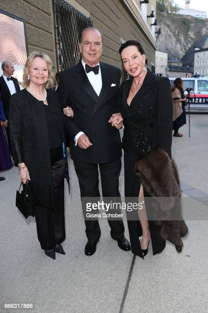 Princess Yvonne von Hessen and Alexandra Kauka Fix und Foxi and her husband Sterling Morton Hamil during the opening of the Easter Festival 2017...