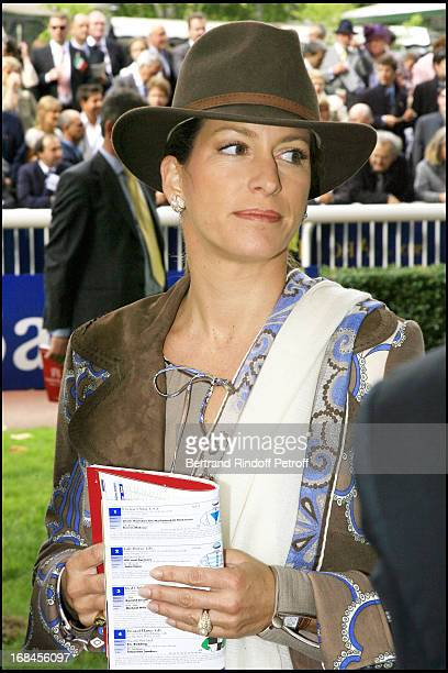 Princess Zahra Aga Khan - 85th race of the Arc De Triomphe 2006 at the Longchamp racecourse.