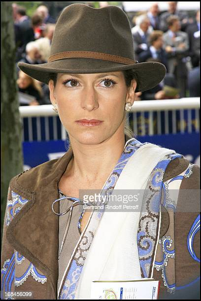 Princess Zahra Aga Khan 85th race of the Arc De Triomphe 2006 at the Longchamp racecourse