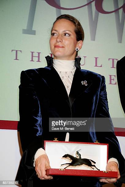 Princess Zahra Aga Khan attends the Cartier Racing Awards 2008 at the Grosvenor House Hotel on November 17 2008 in London England
