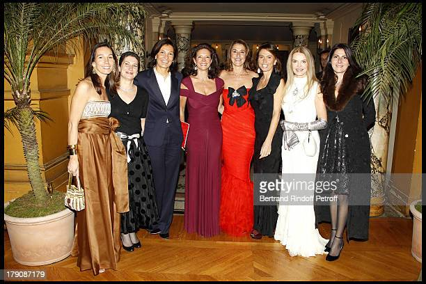 Princesse Alexandre Poniatowski Laure Darcos Agnes Crombach Madame Dominique Mine Pia De Brantes Cyrielle Clair Denise Vilgrain at The Gala Evening...